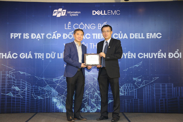 FPT IS đạt cấp đối tác cao nhất của Dell EMC