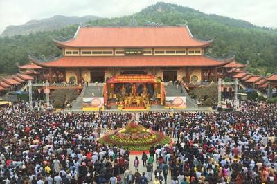 Kỷ luật nghiêm việc tuyên truyền mê tín dị đoan tại chùa Ba Vàng