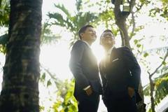 Cặp đôi đồng tính nam ở Bình Thuận tổ chức đám cưới sau 4 năm chung sống