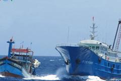 Phản đối tàu hải cảnh Trung Quốc phun vòi rồng đuổi tàu cá Việt Nam