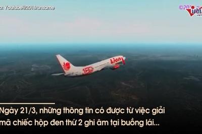 Rò rỉ cuộc trò chuyện phút chót của phi công máy bay Lion Air