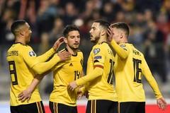 Hazard rực sáng, tuyển Bỉ vùi dập Nga