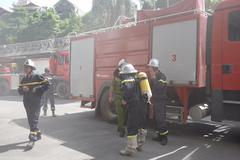 Thông tin thêm về vụ cháy ở tòa nhà Viện Dầu khí