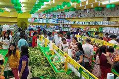 Bách hóa Xanh mang rau củ quả về bán ở xứ miệt vườn
