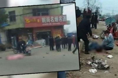 Cảnh sát Trung Quốc bắn chết lái xe điên tông chết 6 người