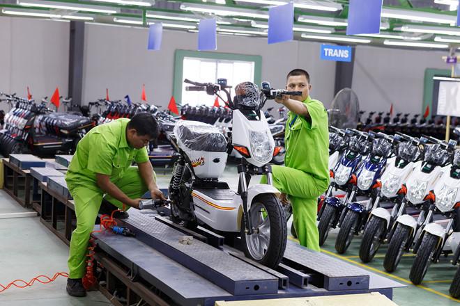 Xe máy điện cũng sẽ bị cấm ở 6 tuyến phố Hà Nội