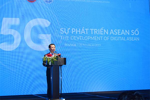 5G,Cách mạng Công nghiệp 4.0,Viễn thông,Bộ TT&TT,IoT,Kinh tế số,ASEAN