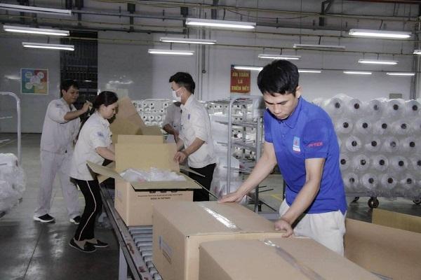Nhà máy xơ sợi Đình Vũ nâng công suất lên 10 dây chuyền