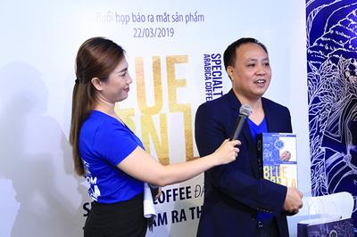 Ra mắt Blue Son La - cà phê đặc sản Sơn La