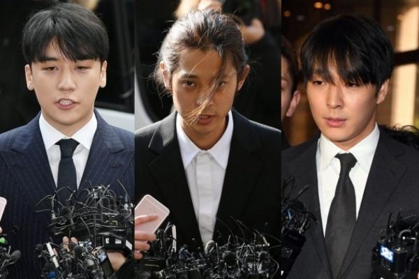 Seungri,R. Kelly,Park Yoochun,Micheal Jackson