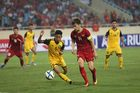 U23 Việt Nam 3-0 U23 Brunei: Quang Hải vào sân (H2)