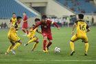 """U23 Việt Nam """"đánh tennis"""" trận ra quân vòng loại U23 châu Á"""