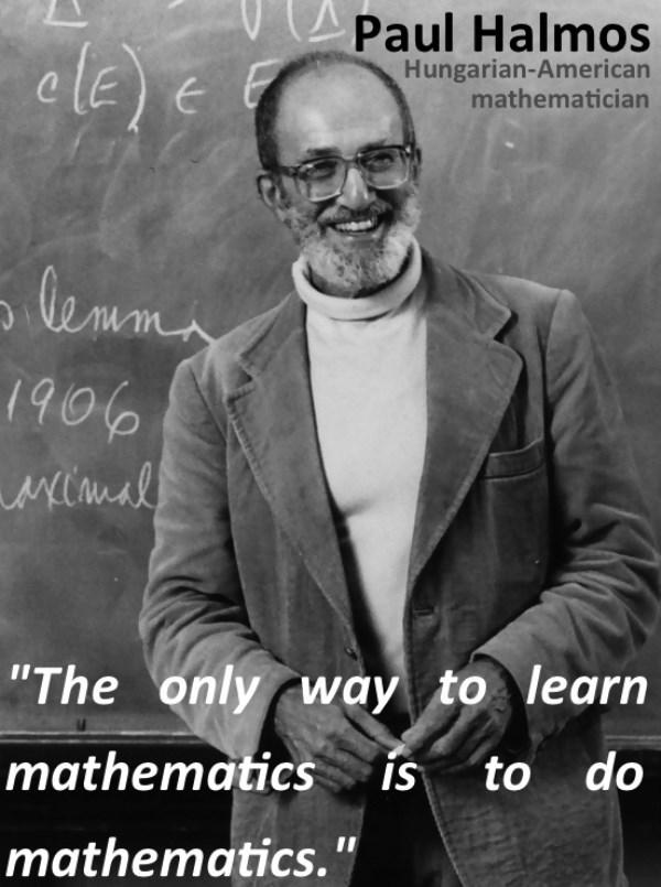 Cách học tốt nhất là thực hành, cách dạy dở nhất là giảng giải