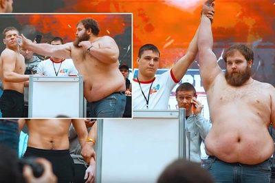 """Hình ảnh """"nảy đom đóm mắt"""" ở cuộc thi đặc biệt chỉ Nga có"""