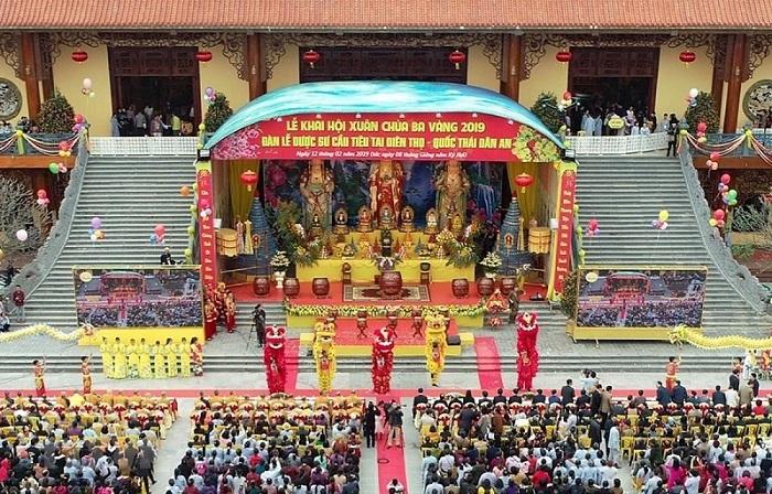 Chùa Ba Vàng,Chùa Phúc Khánh,Dâng sao giải hạn,Thỉnh vong báo oán,Phật giáo Việt Nam