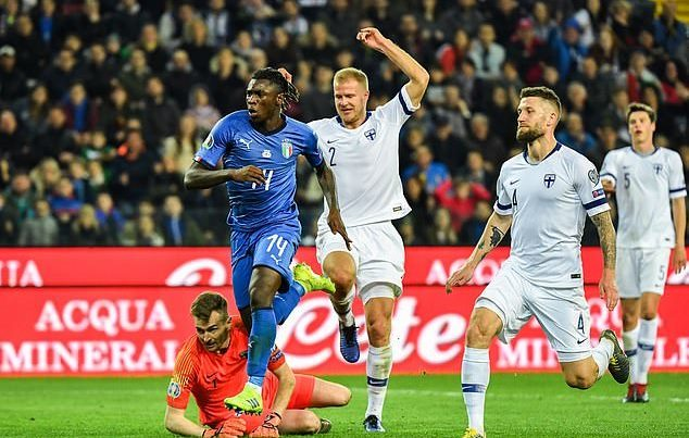 Italia,Phần Lan,vòng loại Euro 2020