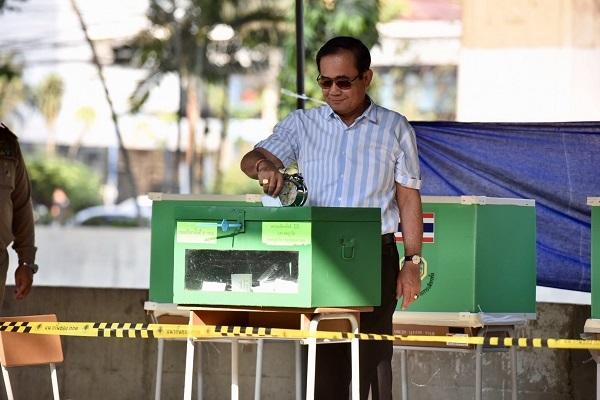 Thái Lan,bầu cử,cử tri,bỏ phiếu