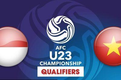 Link xem U23 Việt Nam vs U23 Indonesia, 20h ngày 24/3