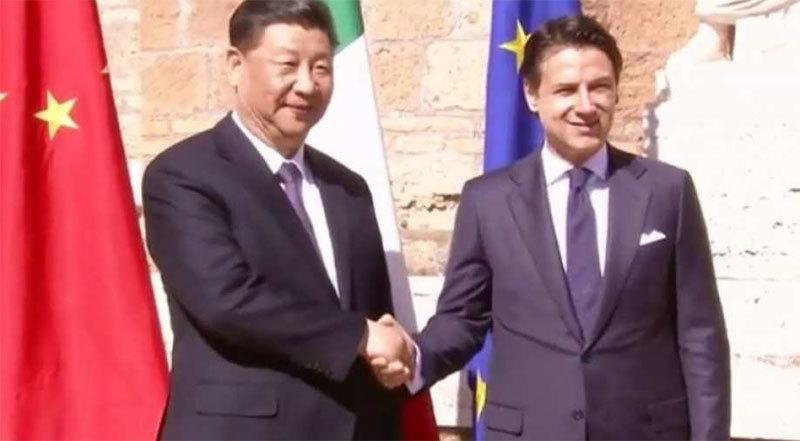 Trung Quốc,Italy,Tập Cận Bình,Vành đai và con đường