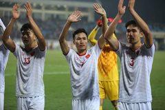 Bảng xếp hạng các đội nhì bảng vòng loại U23 châu Á 2020