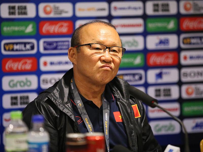 """Thầy Park: """"Tôi thay người sai, U23 Việt Nam thắng may Indonesia"""""""