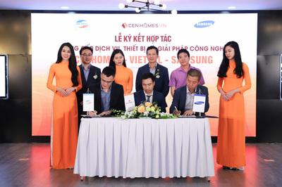 CenHomes hợp tác với 2 'ông lớn' Viettel và Samsung