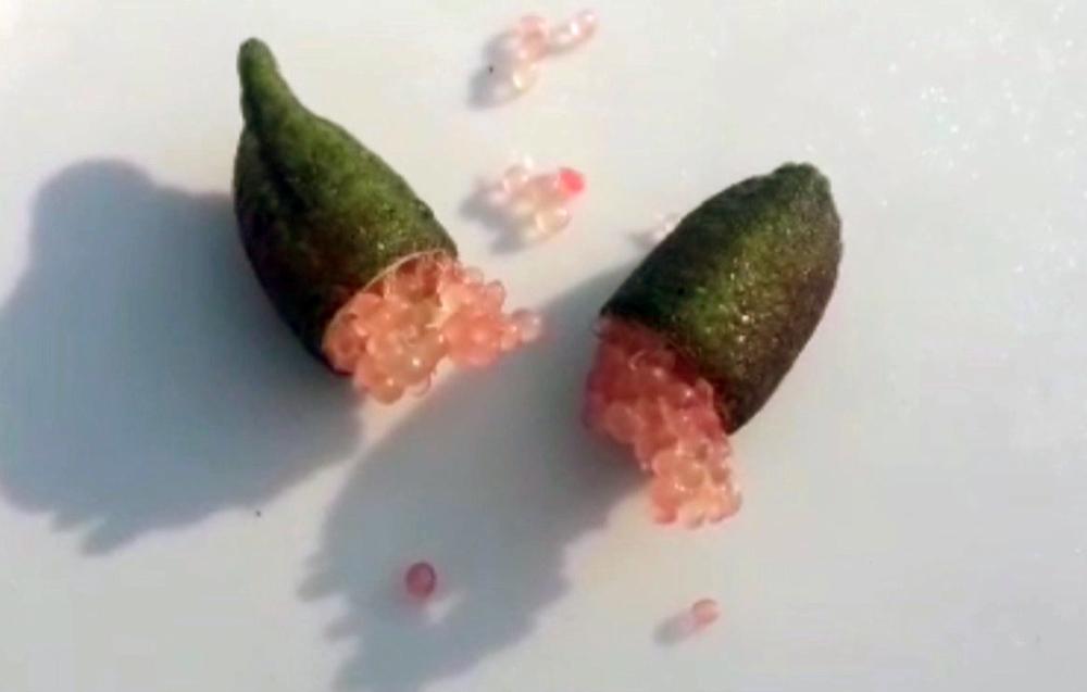 Quả chanh tý hon chứa cả ngàn hạt trứng cá long lanh, giá đắt gấp 100 lần