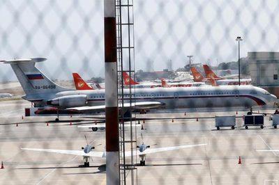 Máy bay không quân Nga chở lính đến Venezuela