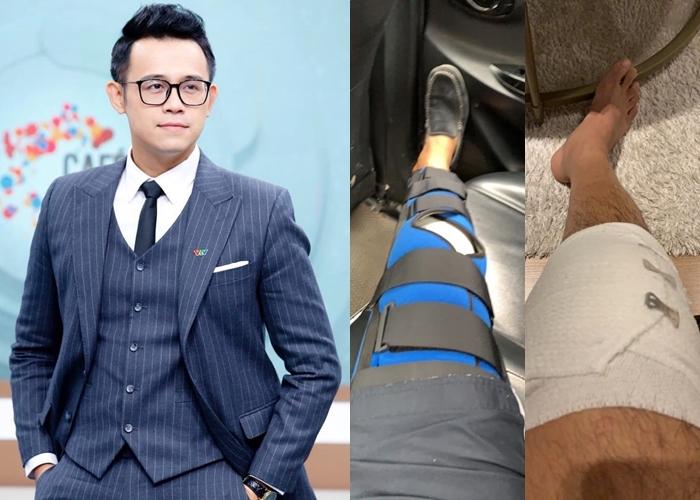 Hai MC VTV ngã gãy tay, mổ dây chằng phải nhập viện