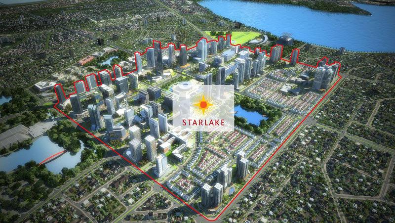 Đại lộ mới thông xe, dự án Starlake thành 'điểm nóng'