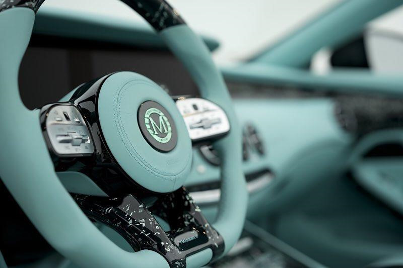 Mui trần Mercedes-AMG S63 độ lại như viên kẹo bạc hà