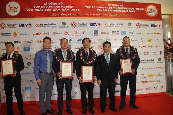 PVN vào Top 500 Doanh nghiệp lớn nhất Việt Nam năm 2018