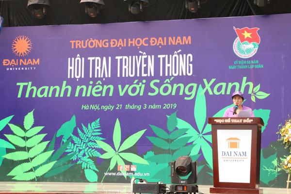ĐH Đại Nam lan tỏa thông điệp cứu môi trường