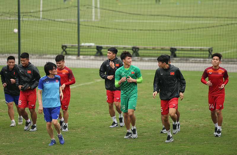 U23 Việt Nam,Bùi Tiến Dũng,Quang Hải,HLV Park Hang Seo
