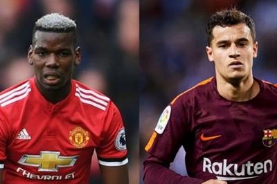 Barca gạ MU đổi Pogba lấy Coutinho, Man City buộc chi đậm