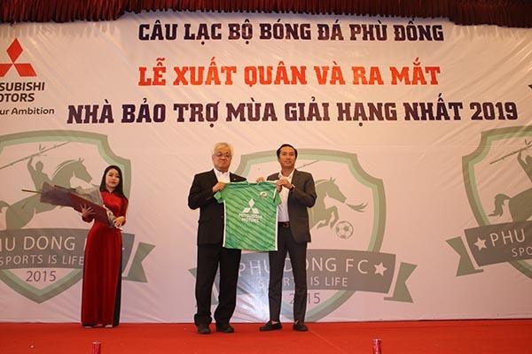 Phù Đổng FC tham vọng thăng hạng V-League