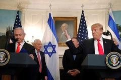 Ông Trump ký công nhận cao nguyên Golan của Israel