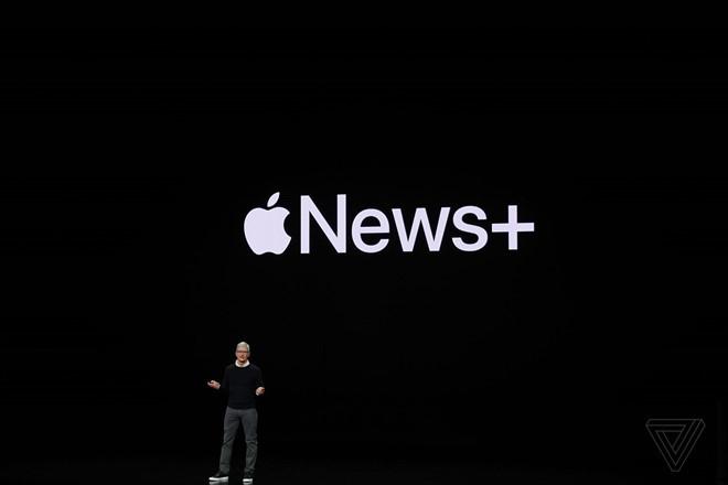 Apple ra mắt dịch vụ Tin tức với hàng trăm nguồn tin hấp dẫn