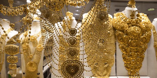 Lóa mắt trước chợ vàng lớn nhất ở Dubai
