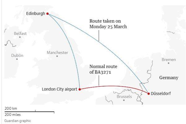 Sự cố hy hữu, máy bay chở khách hạ cánh nhầm, cách đích 800km