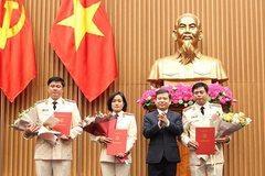 Viện trưởng VKSNDTC trao quyết định bổ nhiệm 3 Vụ trưởng