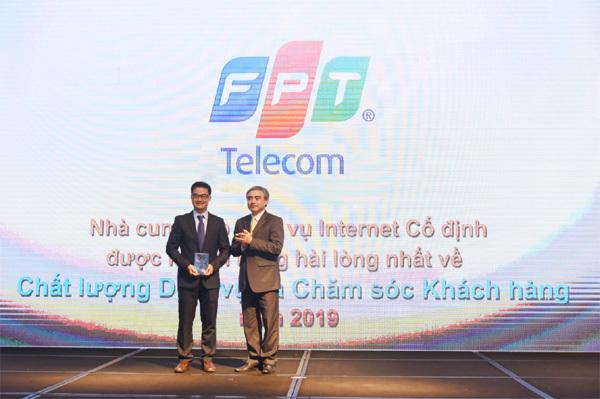 FPT Telecom nhận giải về Dịch vụ và Chăm sóc khách hàng