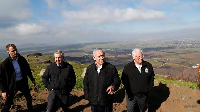 Golan,cao nguyên Golan,Donald Trump