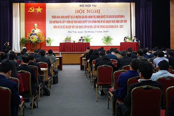 Sáp nhập huyện, xã: Phó bí thư Hà Nội chỉ cách giảm 13 PGĐ sở còn 3