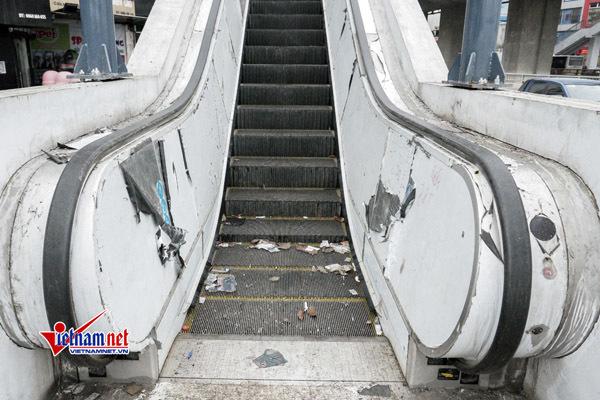 Đường sắt Cát Linh-Hà Đông ngàn ngày mong đợi vẫn nhếch nhác