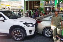 Va chạm ô tô, đại ca giang hồ Cần Thơ rượt đánh 2 người bị thương