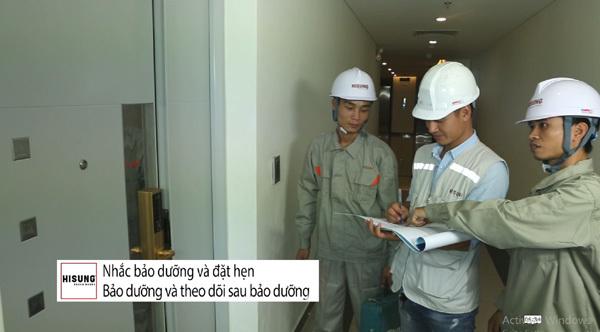 Hisung Door tạo lợi thế cạnh tranh bằng dịch vụ chuyên nghiệp