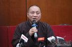 Thầy Thái Minh bị tạm đình chỉ các chức vụ trong Giáo hội Phật giáo