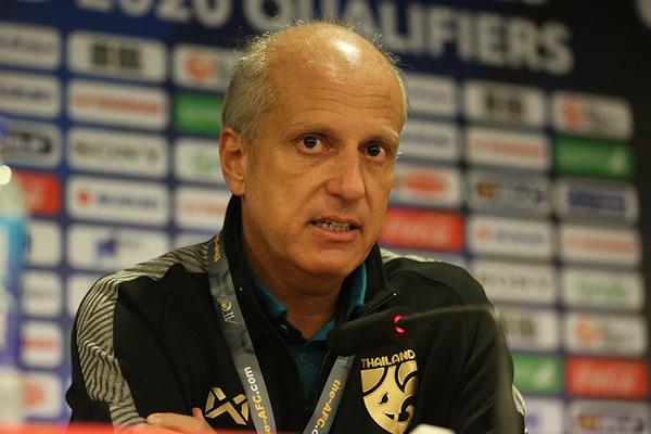 """HLV Gama: """"Thái Lan bị vỡ trận trước U23 Việt Nam"""""""