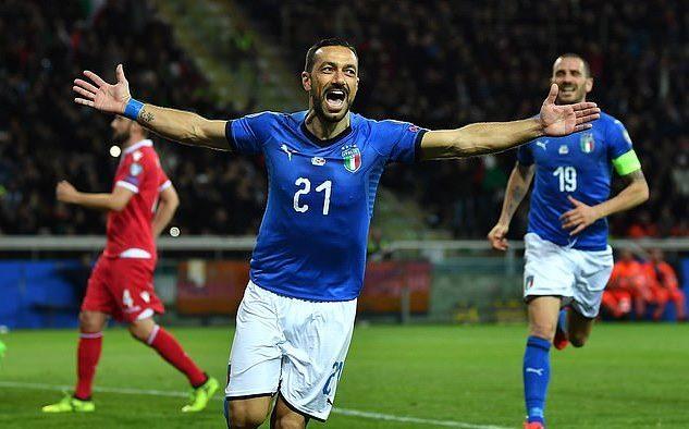 Nhấn chìm Liechtenstein, Italia chiếm ngôi đầu bảng